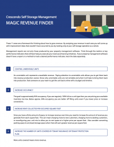 Magic Revenue Finder
